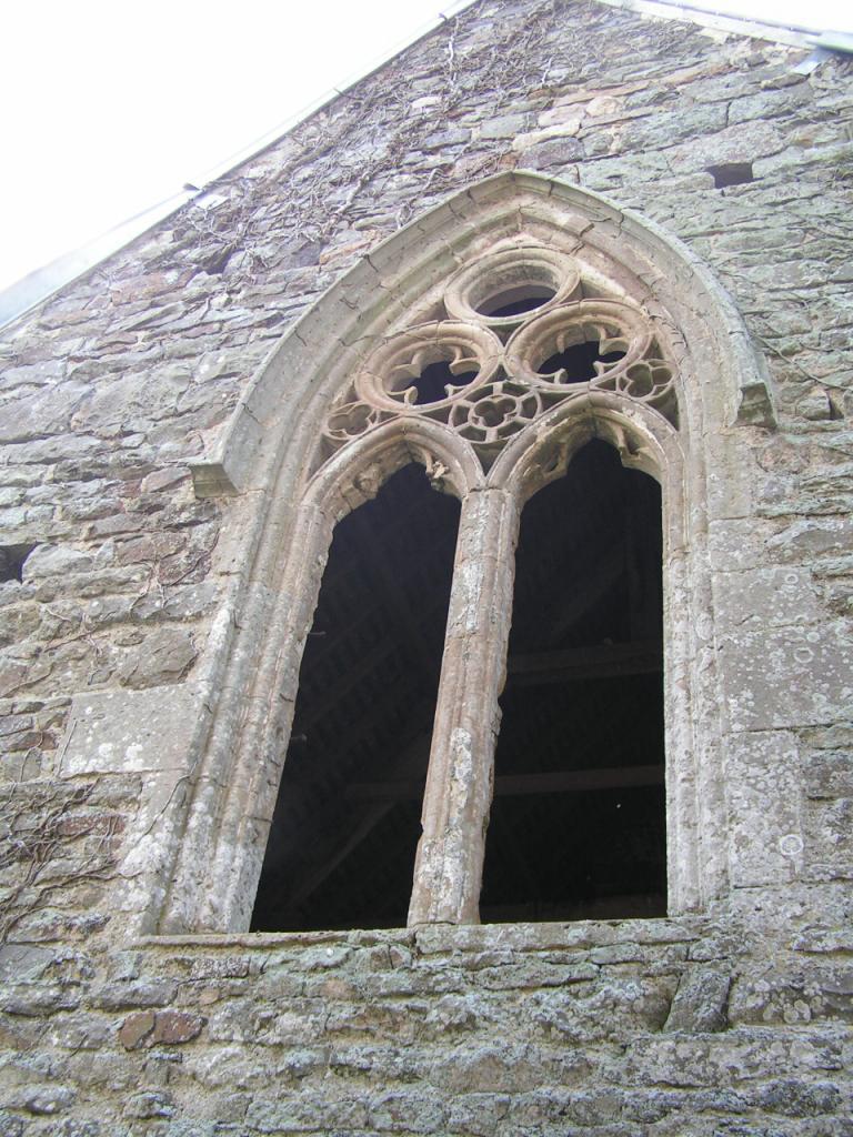 Fenêtre du pignon.