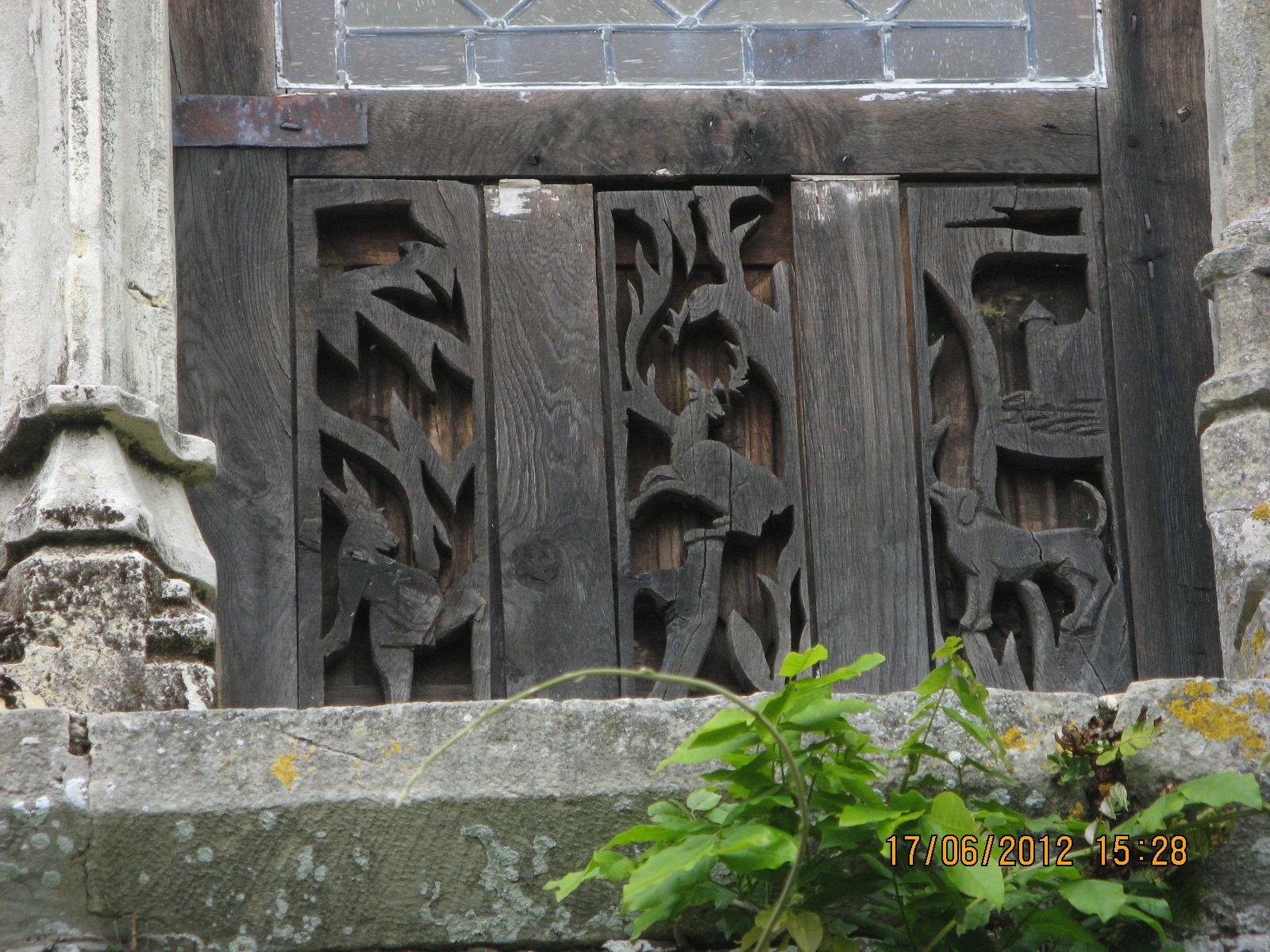 Détail des fenêtres partie XVième.