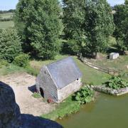 8. Le moulin.