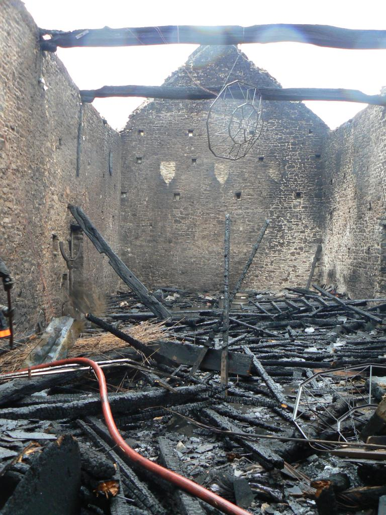 After the fire in 2007.