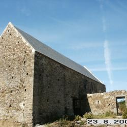 The rebuilt of the barn in 2009.