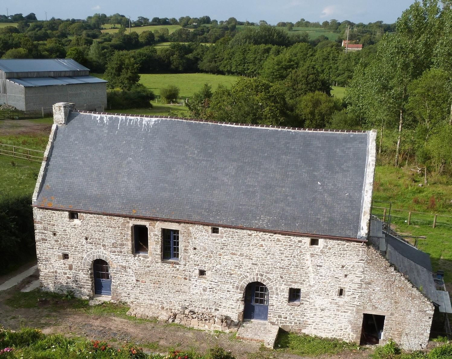 Vue de la tour du Manoir.